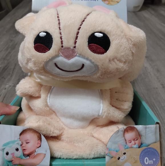 Bunny 3 in 1 Baby Plush Blanket